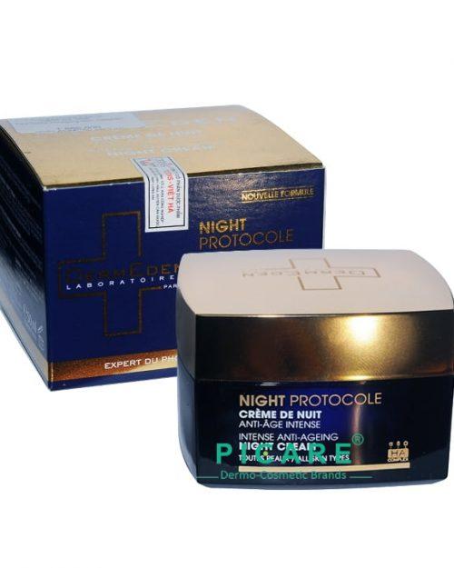 DermEden Intense Anti-Ageing Night Cream - All Skin