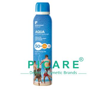 Chai xịt chống nắng Repavar Protextrem Suncare Aqua Wet Skin Spray Gel SPF50+ 150ml